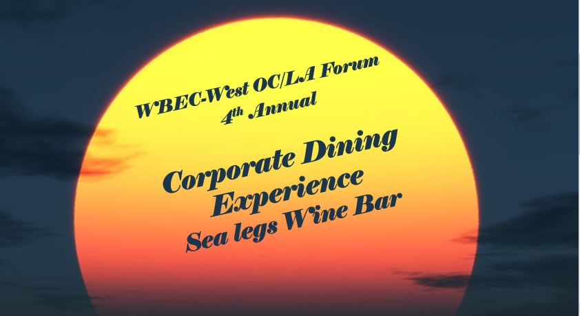 4th Annual Corporate Dining Experience