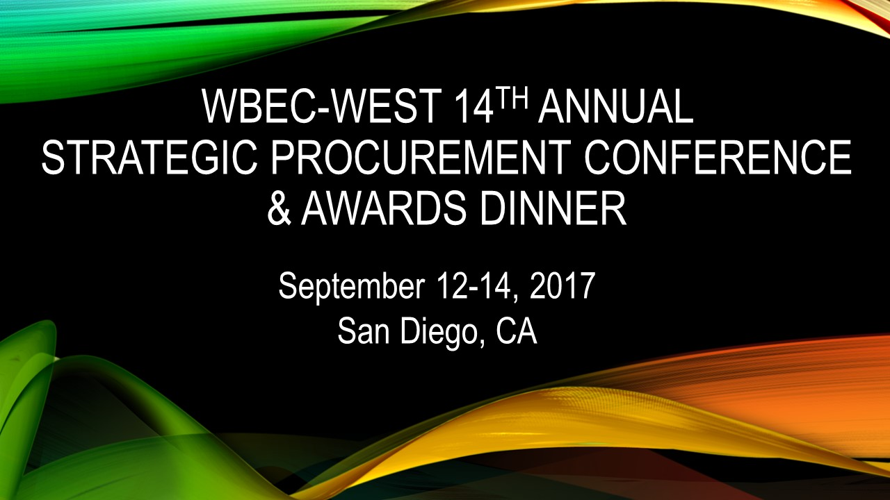 14th Annual Procurement Conference