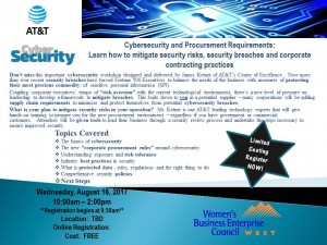 Cybersecurity Workshop_NV'17