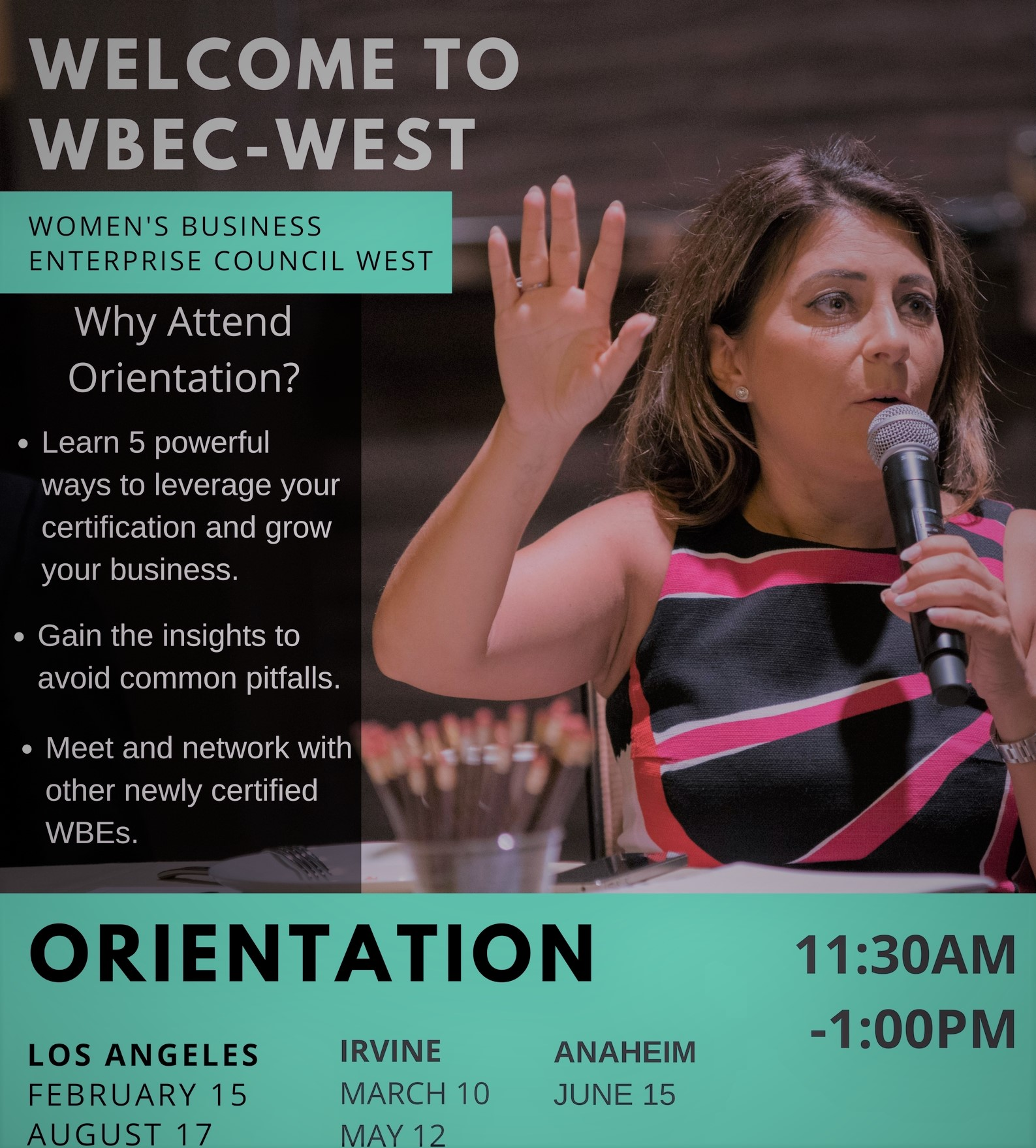 Anaheim - New Certification Orientation Class