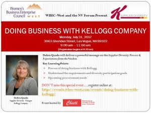 HOW TO DO BUSINESS WITH KELLOGG