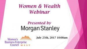 Women & Wealth Webinar
