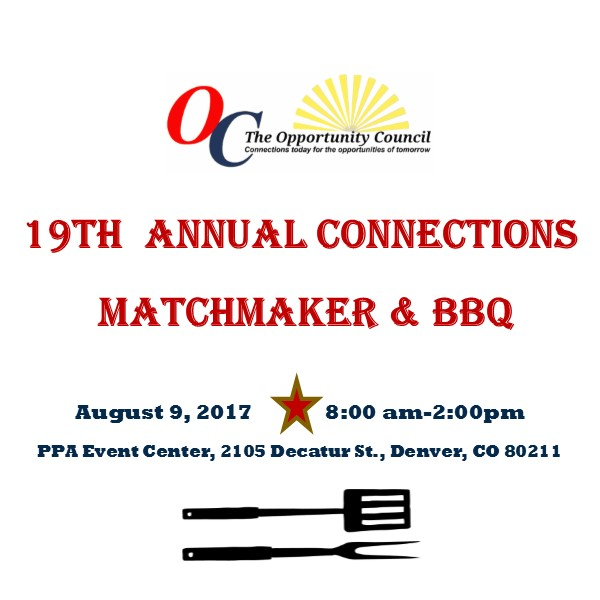 The Opportunity Council's 19th Annual Connections, Matchmaker & BBQ