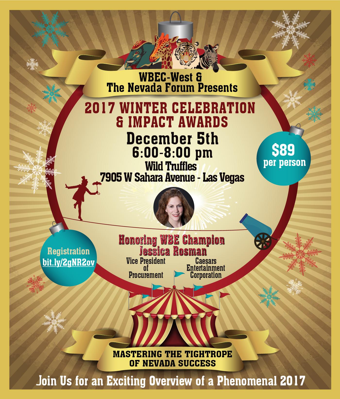 NV Winter Celebration & Impact Award