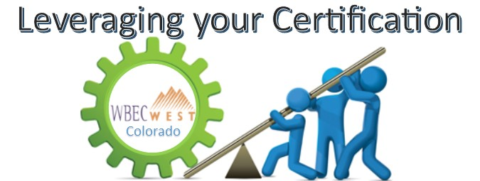 Leveraging your Certification - Colorado