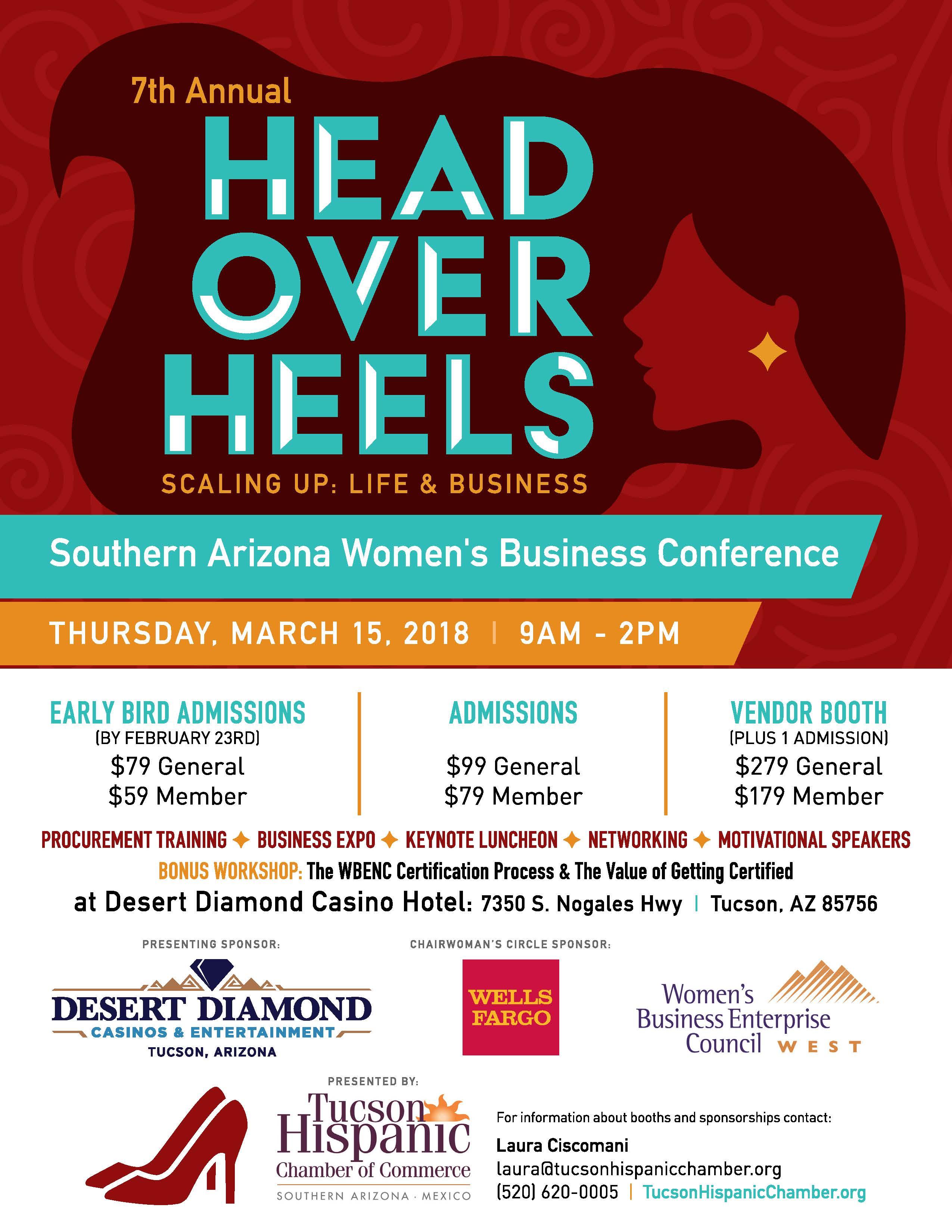 Head over Heels Event 2018
