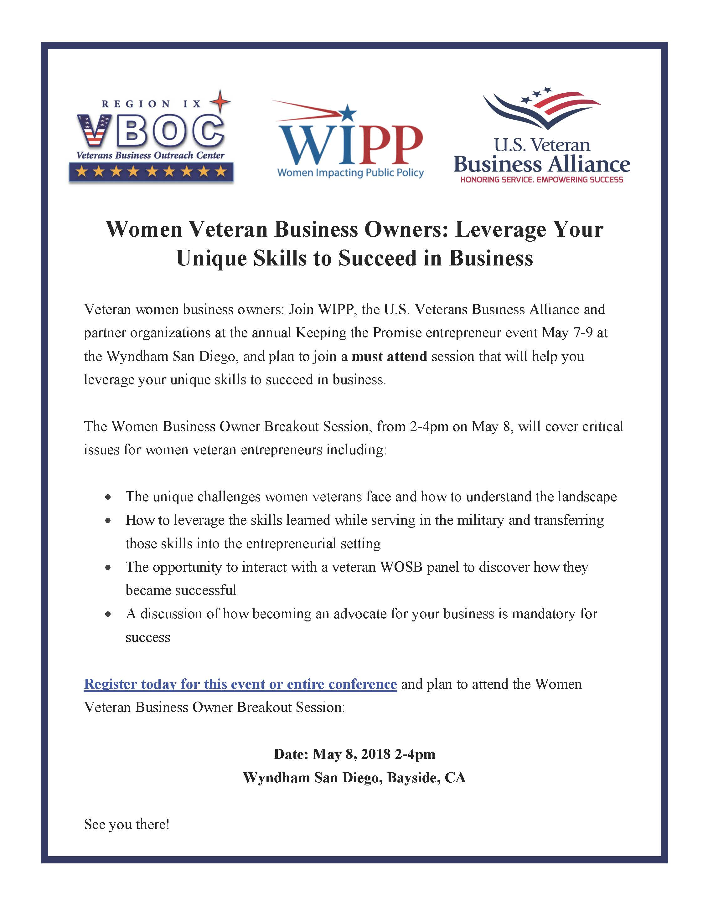 Women Veteran Business Owners: Leverage Your Unique Skills to Succeed in Business