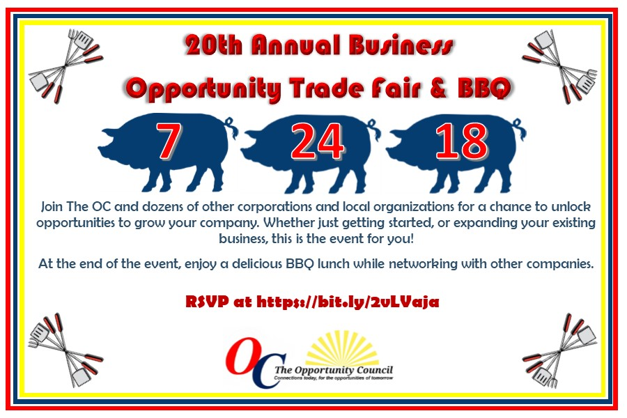 The Opportunity Council's 20th Annual Business Opportunity Trade Fair & BBQ