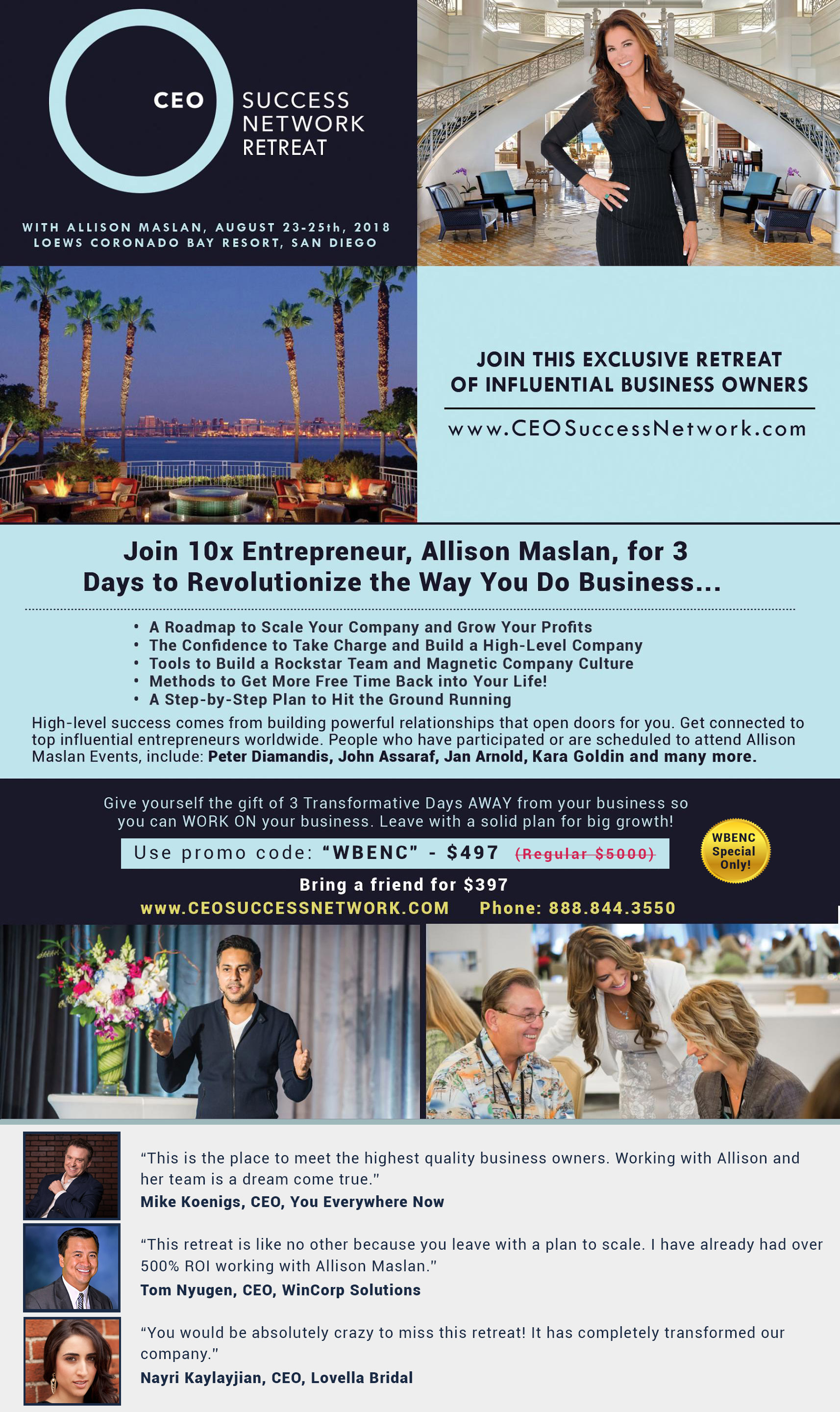 CEO Success Network Retreat