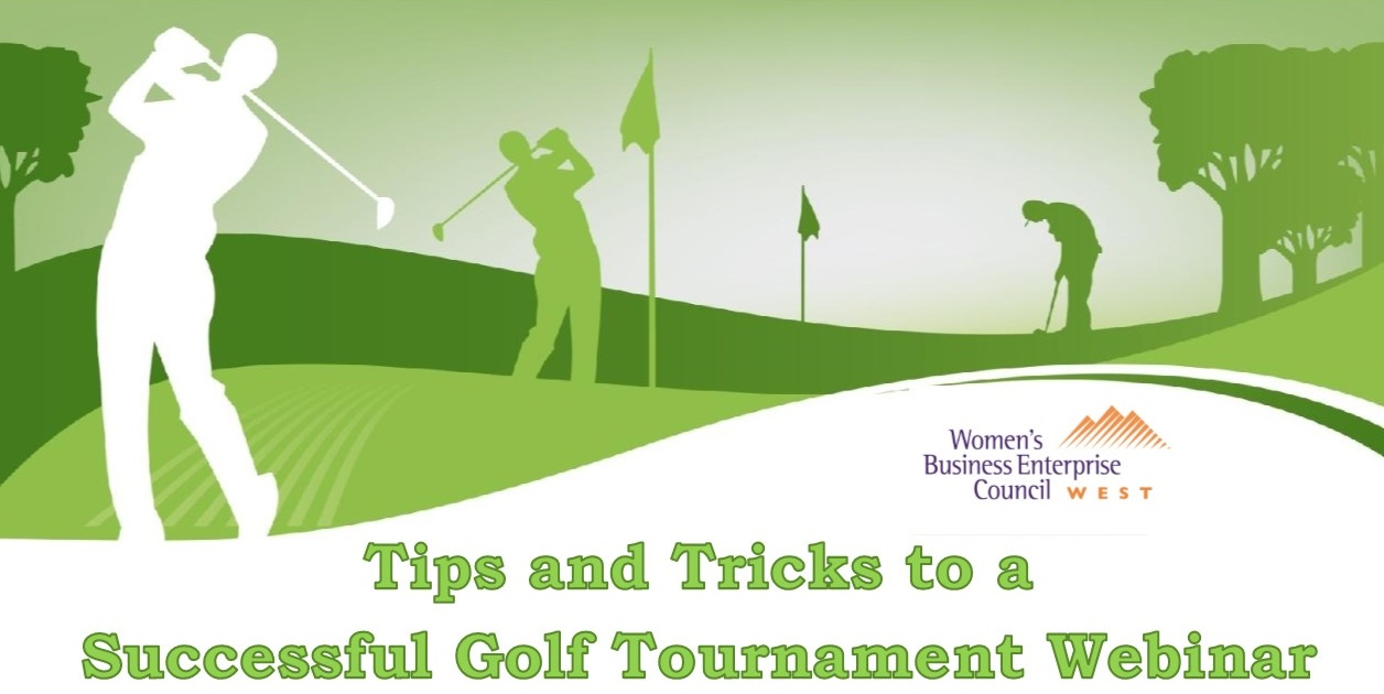 Tips and Tricks to a  Successful Golf Tournament Webinar