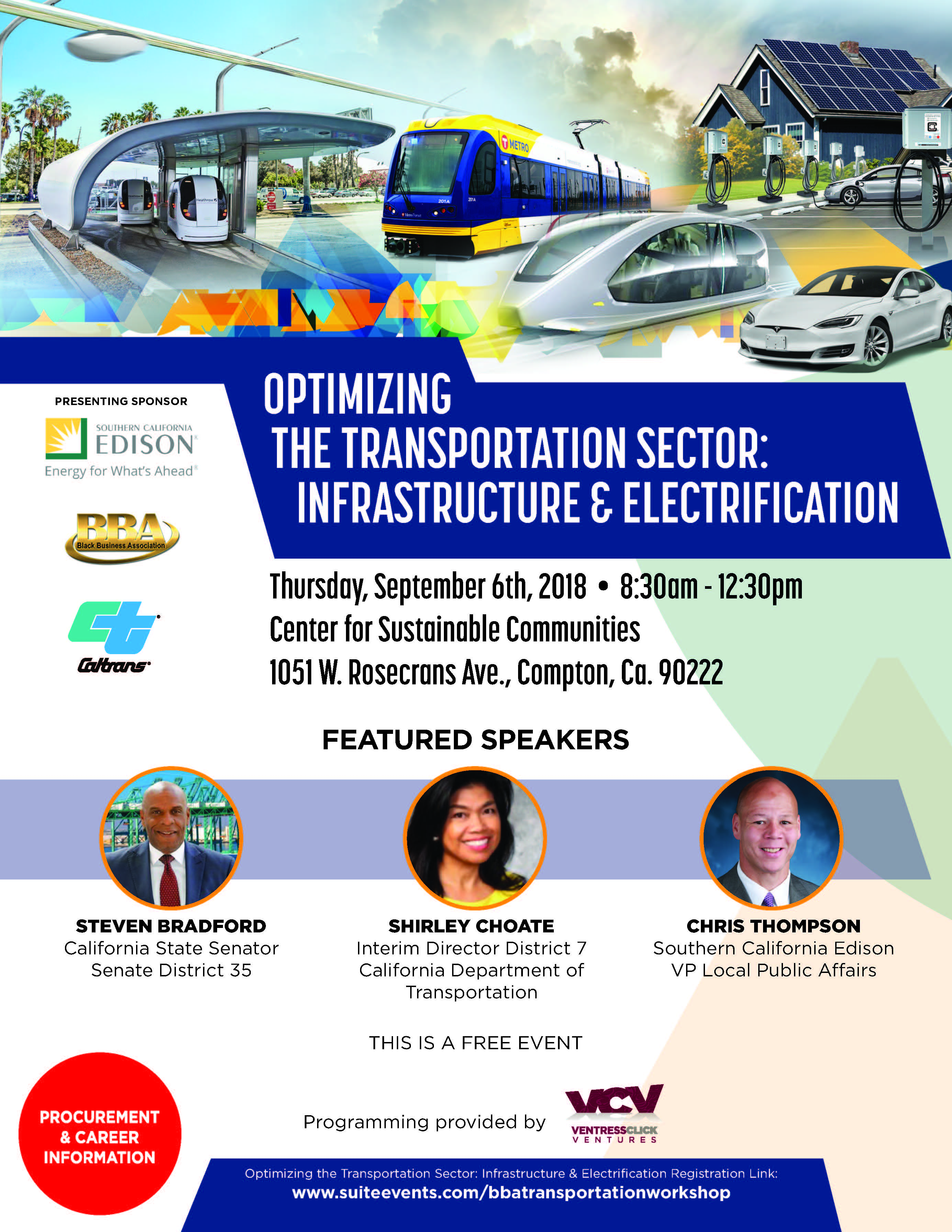 OPTIMIZING THE TRANSPORTATION SECTOR: INFRASTRUCTURE & ELECTRIFICATION