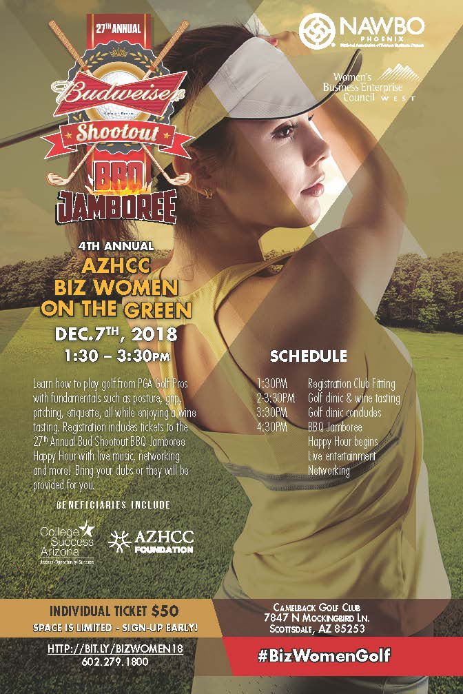 AZHCC Bud Shootout, Women On The Green