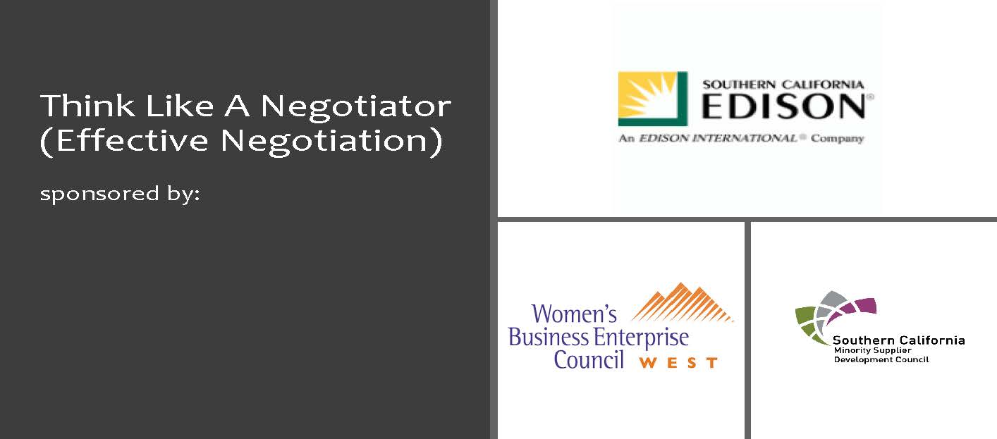 Think Like A Negotiator Header