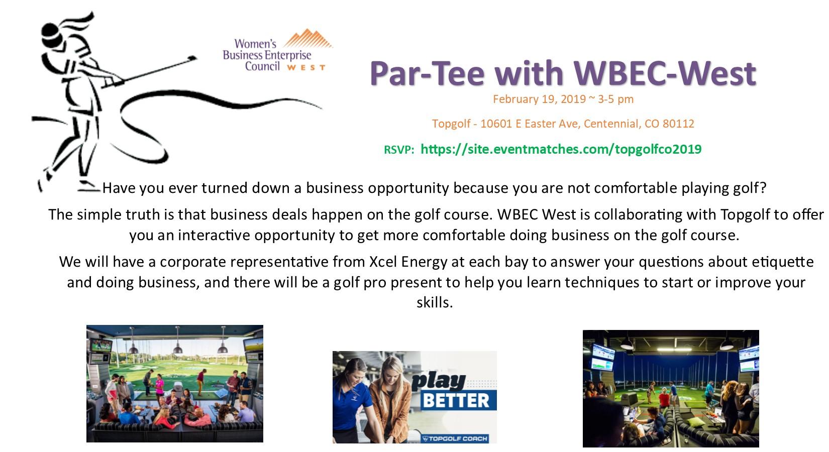 Par-Tee with WBEC-West