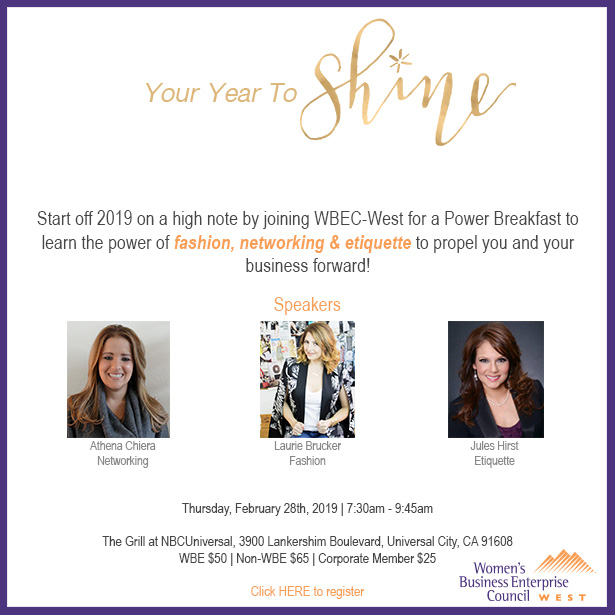 LA Power Breakfast - Your Year to Shine