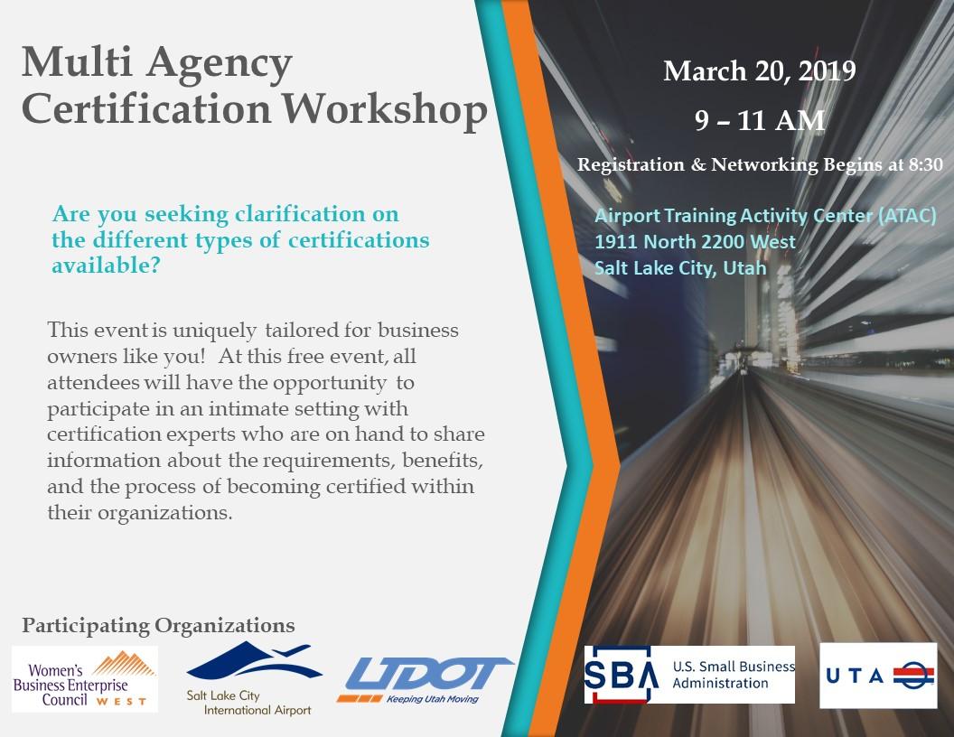 UT Certification WS