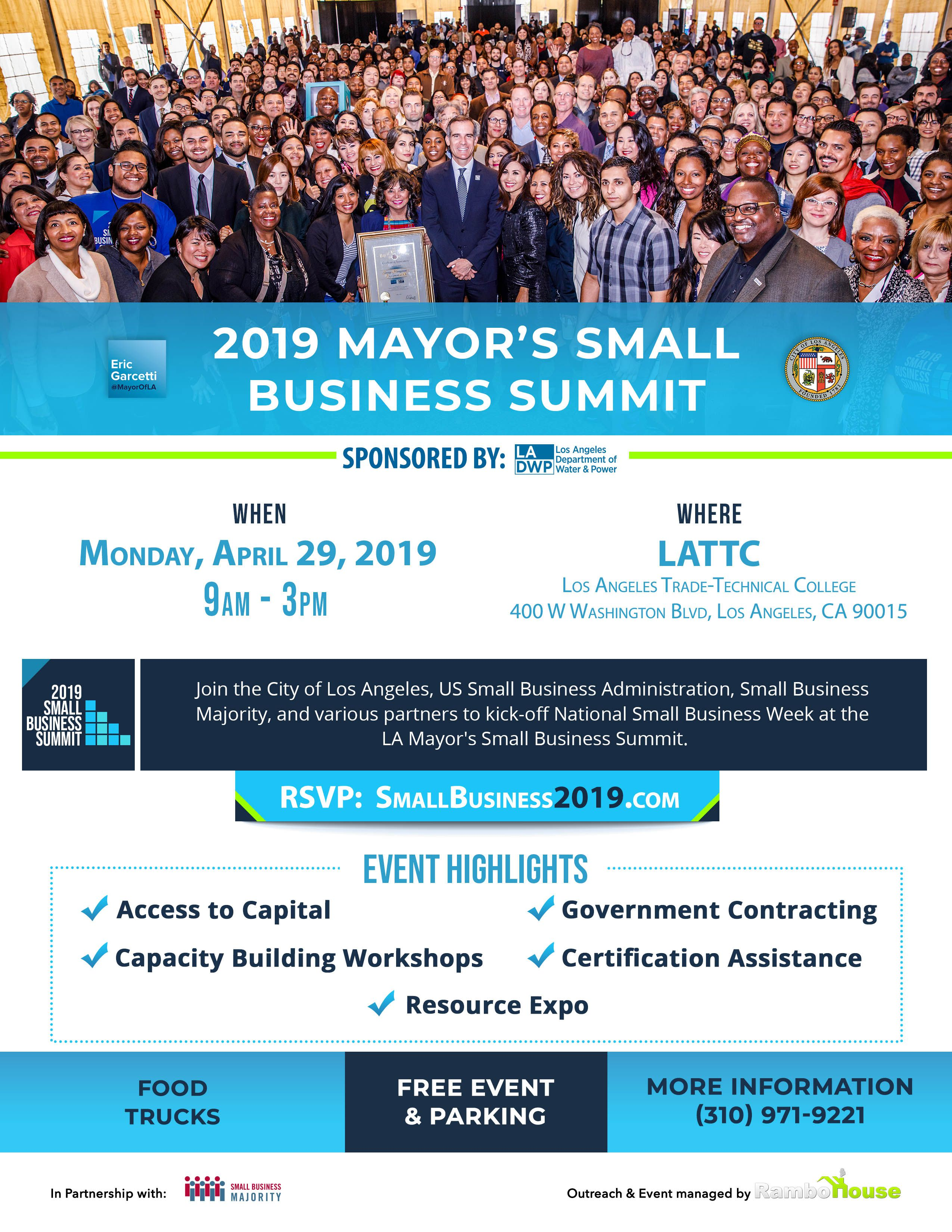 Mayor's Small Business Summit