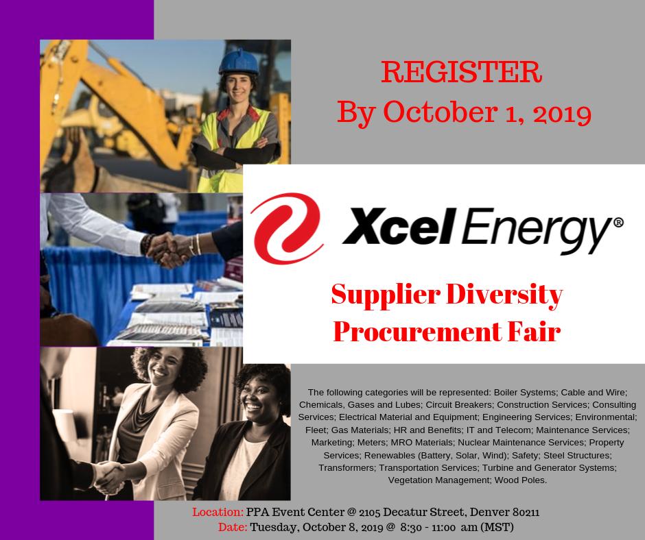 Xcel Energy Supplier Diversity Procurement Fair