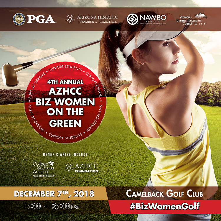 5th Annual AZHCC Women on the Green