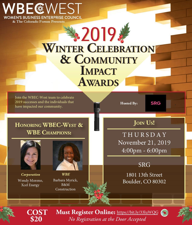 2019 Colorado Winter Celebration &  Community Impact Awards