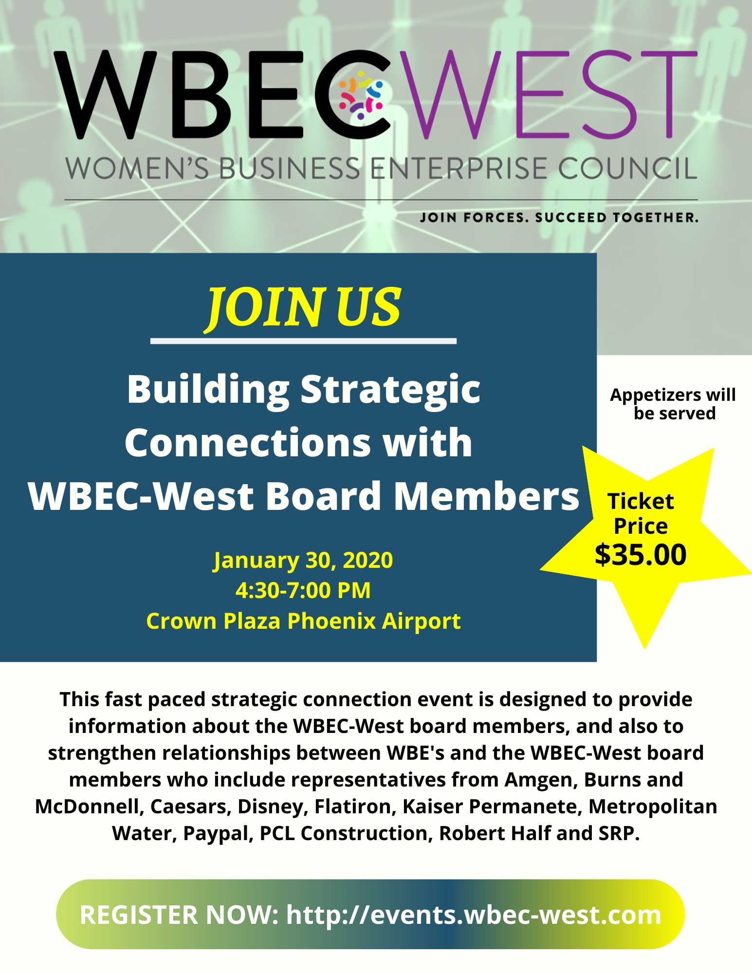Building Strategic Connections with WBEC-West Board Members